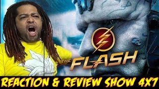 "The Flash Season 4 Episode 7 Reaction & Review Show (""Therefore I AM"")"