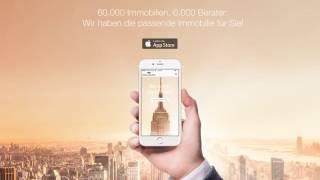 Die neue Immobilien App - Mobil Ihre Traumimmobilie finden