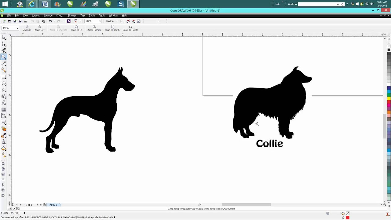 Corel draw clipart images - Corel Draw Tips Tricks Import Clipart Maybe A Little Faster Youtube