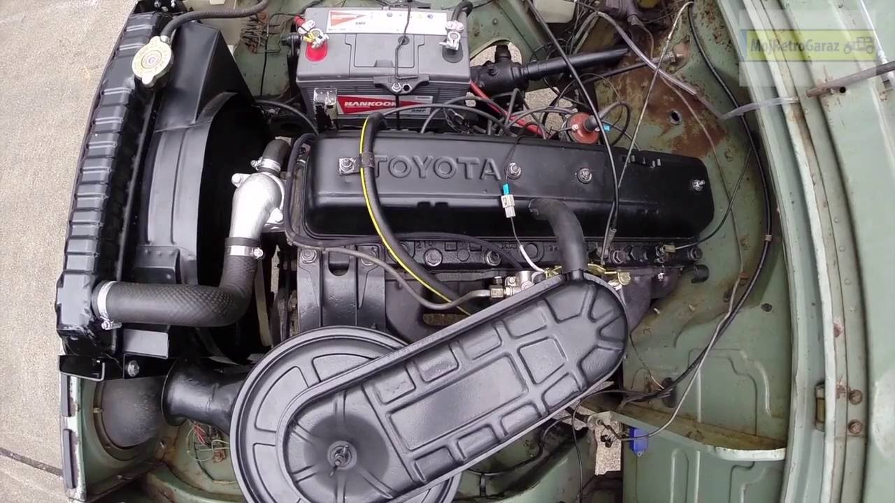 Engine Toyota Land Cruiser Fj40 Silnki Toyota Fj40 Youtube