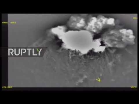 Syria: Russian airstrikes target IS positions in Raqqa district