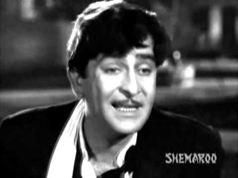 Shree 420 - Raj Kapoor - Nargis - Nadira - Drunkard Raj Loses Morals - Best Hindi Drama Scenes