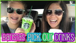 Letting Starbucks Baristas Pick Our Drinks For A Week!