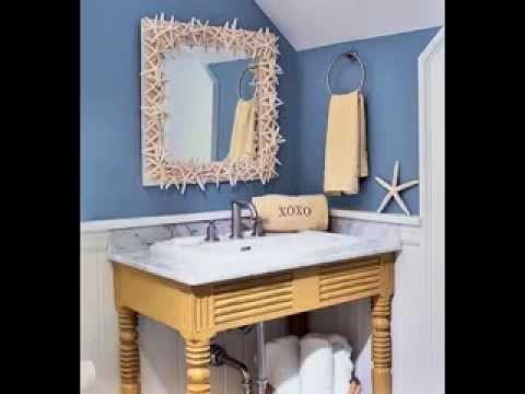 Beach Bathroom Decor Ideas Youtube