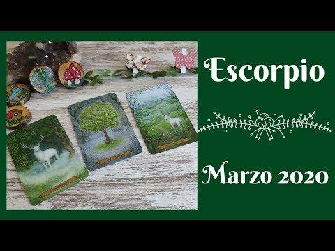 Escorpio - Marzo 2020 -Tarot Anika
