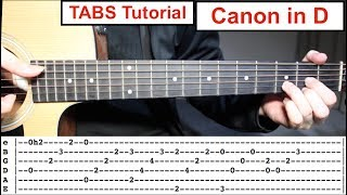 Baixar Canon in D | Fingerstyle TABS Guitar Lesson (Tutorial) How to play Canon in D with Tabs
