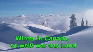 Winter in Kanada Karaoke 1,20 gesungen TA