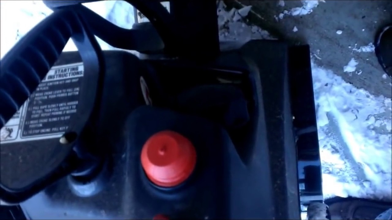 How To Replace Primer Bulb On Snow Blower Diy Youtube Have A With Tecumseh 85 Hp Model Lh318sa