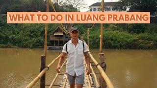 Exploring Luang Prabang | Laos Travel Vlog