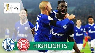 FC Schalke 04 - Fortuna Düsseldorf 4:1 | Highlights - DFB-Pokal 2018/19 | Achtelfinale