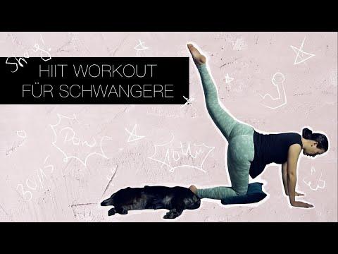 HIIT Workout für Schwangere | 10 Minuten Ganzkörpertraining | Vlogmas#3