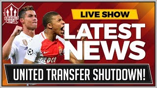 MBAPPE, RONALDO, AUBAMEYANG LATEST! MAN UTD TRANSFER NEWS thumbnail