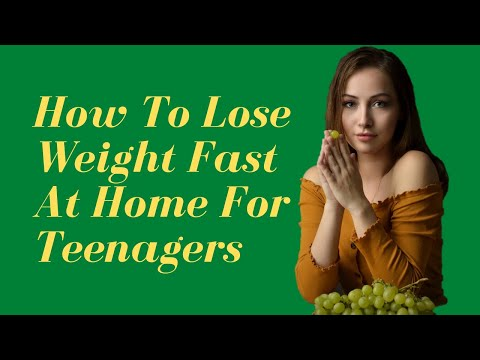 How To Lose Weight Fast At Home For Teenagers | 9 Best Expert Weight loss Tips