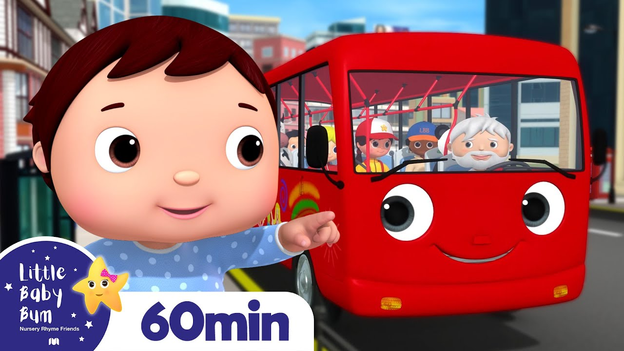 Download Wheels On The Bus! +More Nursery Rhymes and Kids Songs | Little Baby Bum