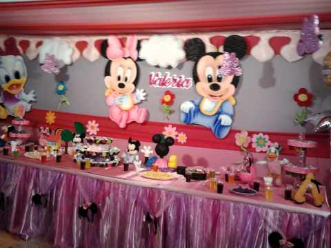 Decoracion de minni beb eventos d luxe telf 2746021 rpc - Adornos para bebes ...