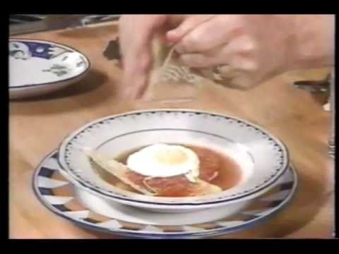 Carlo Cooks Italian (1994)- Marinated Zucchini/Bread & Cheese Soup/Squid & Peas
