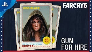 Far Cry 5 - Character Spotlight: Jess Black – Gun For Hire | PS4
