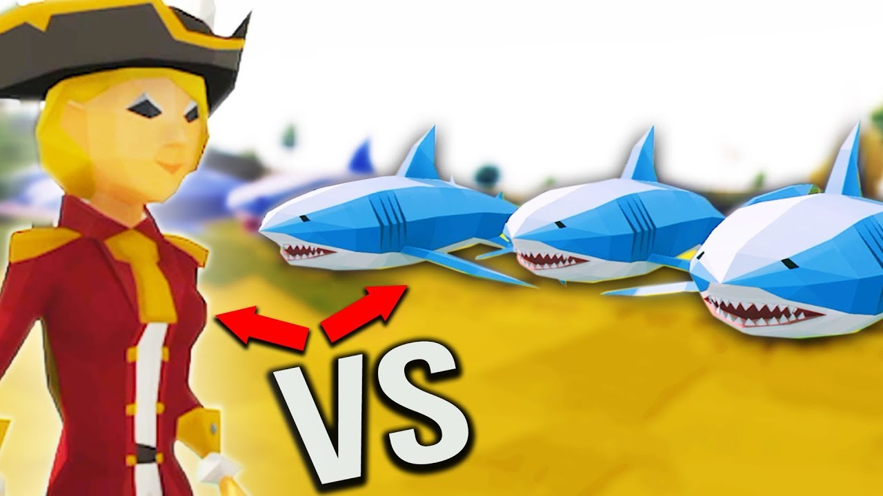 MAN vs ANIMALS! - Ylands Gameplay