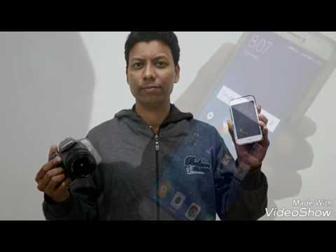 How To connect Canon WiFi camera to smartphone EOS1300D and Canon camera connect App