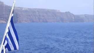 Tourist Attractions in Santorini Ep.1 Greece