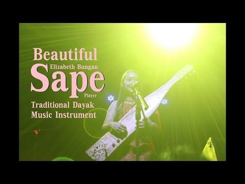 Beautiful Sape Borneo ♥ Traditional Dayak Music Instrument