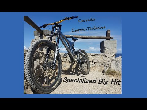 Descenso Cerredo Castro Urdiales Specialized Big Hit 2