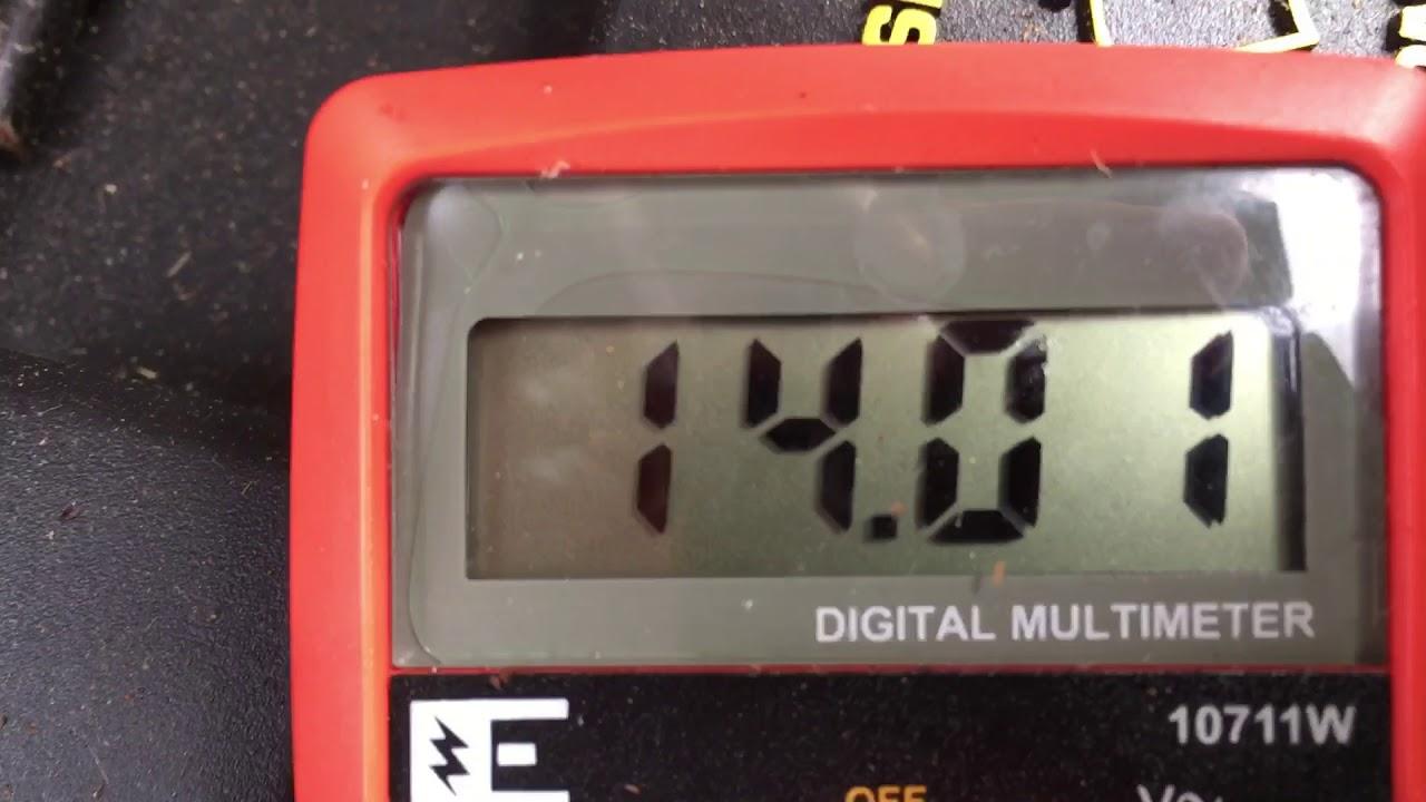 2003 F150 Battery Light Check Part 1