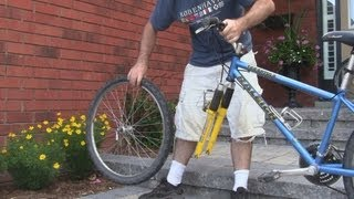 How To Remove The Front Wheel of a Bicycle