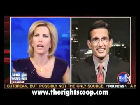 Laura Ingraham gets tough with Eric Cantor