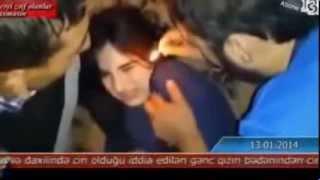girl conjuring exorcism +18 جن گیری وحشتناک در آذربایجان