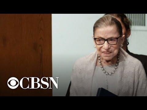 Political battle begins over Justice Ginsburg's successor