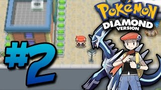 Let's Play Pokemon Diamond - Part 2