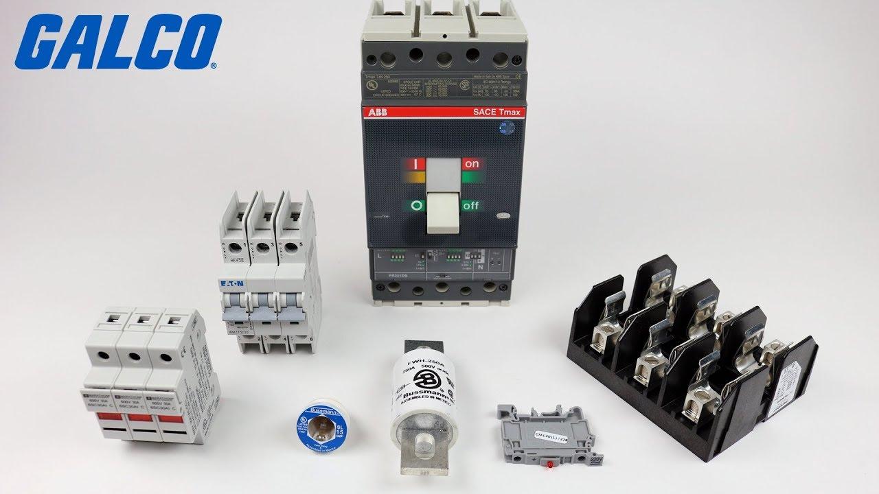 Circuit Protection - Circuit Breakers  Fuseblocks  Fuseholders And Fuses