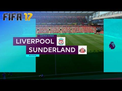 FIFA 17 - Liverpool vs. Sunderland @ Anfield