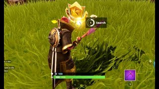 Fortnite: Search Where the Stone Heads are Looking - (Fortnite Week 6 Challenges Secret Battle Star)