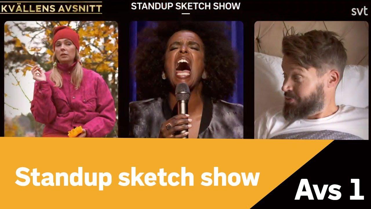 Standup sketch show -  Intro från kommande premiäravsnitt den 5:e december