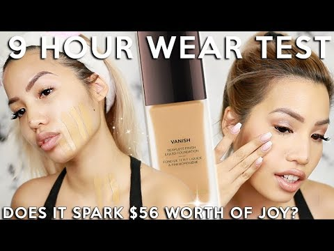 OH MAN... THIS NEW HOURGLASS VANISH LIQUID FOUNDATION | WEAR TEST REVIEW