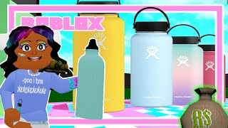 Pick The Right VSCO Girl Bottle For $10,000 In Bloxburg! (Roblox Money Challenge)