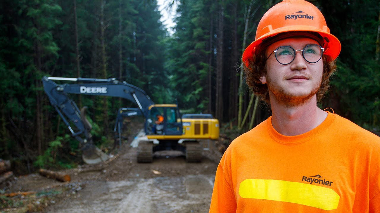 Forest Engineers Build 100s of Eco-Friendly Roads & Bridges