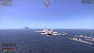 Arma 3 US Air Force vs Russian Air Force (Fairy Tail Music)