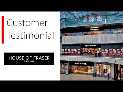 House of Fraser transforms the way its employees use data