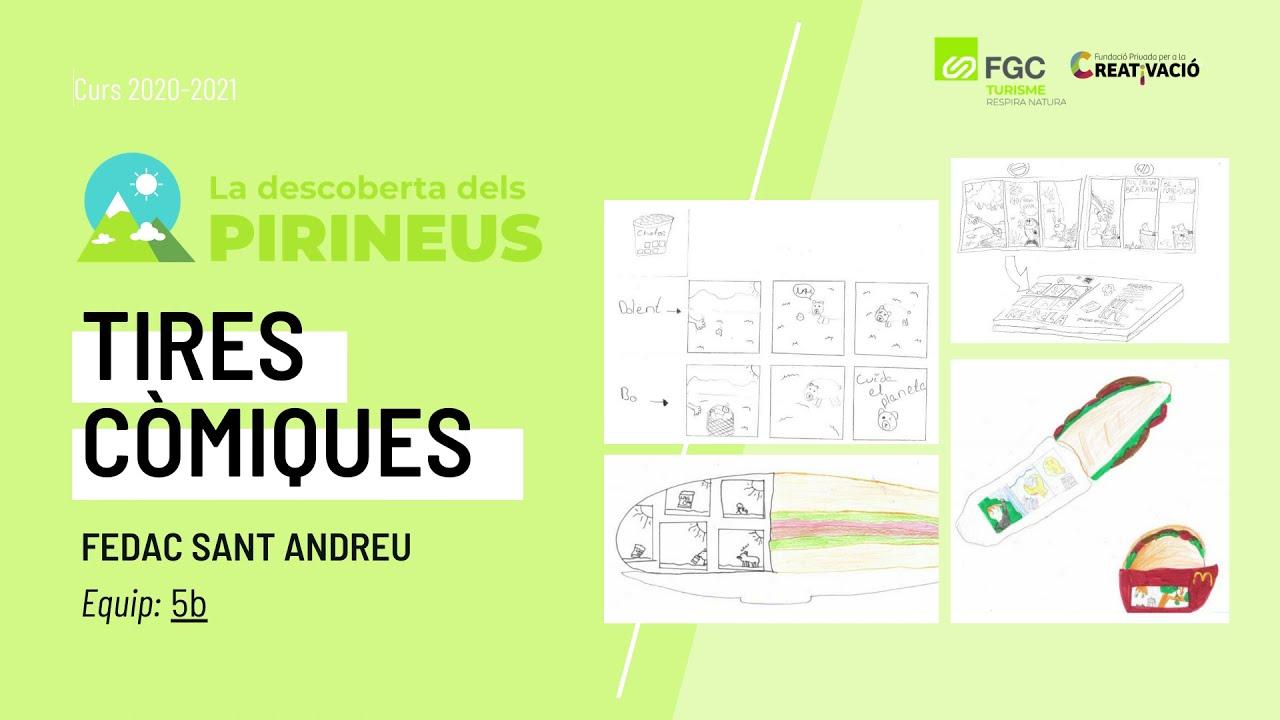 """""""Tires còmiques"""" - FEDAC Sant Andreu"""