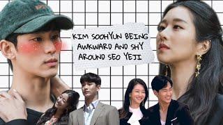 Kim Soohyun being awkward and shy around Seo Yeji - It's Okay To Not Be Okay Moment