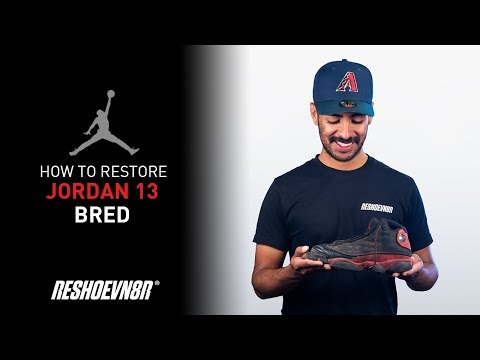 Vick Almighty Restores Air Jordan Bred 13 With Reshoevn8r!