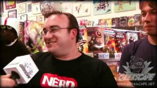 Warren the Ape Interview at San Diego Comic Con 2010