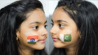 Happy Independence Day To PAKISTAN & INDIA | 5 Year Old Girl | Aimalifestyle