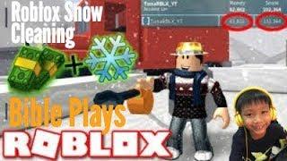 Roblox - nettoyage de la neige - Bible Review