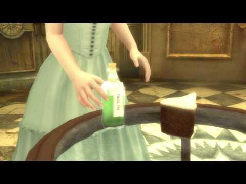 (Nintendo Wii) ALICE IN WONDERLAND Video Game Trailer [HD]