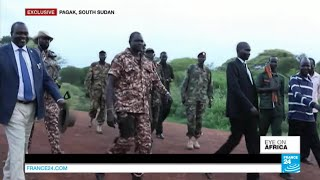 South Sudan peace talks: FRANCE24 gains access to rebels