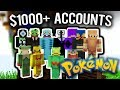 The $1000+ Minecraft Pokemon Accounts